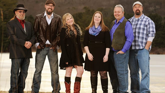 Rebecca and the Soul Shakers includes, from left, Scott Parsons, drums; Jim Smith, guitar; Rebecca Smith, lead vocals; Amanda Smith, horns and vocals; Dave Smith, keyboards and vocals; and R.C. Nobles, bass.