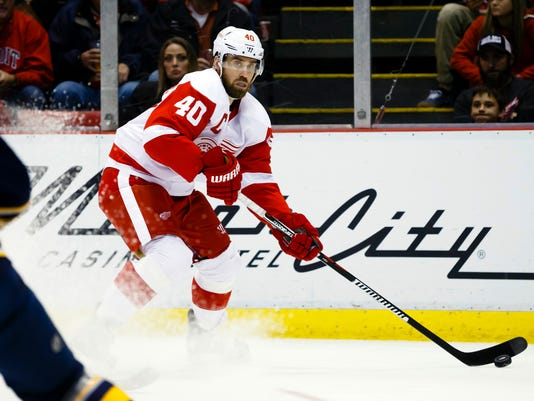 NHL: Buffalo Sabres at Detroit Red Wings