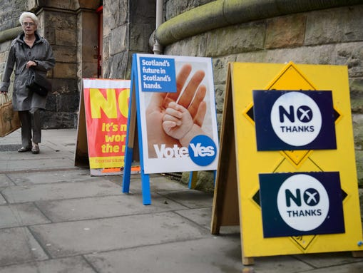 """Oxford considered selecting """"Indyref"""" for 2014's Word"""