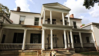 The Belair Mansion in Donelson is one of the city's last remaining examples of a Greek Revival-style antebellum mansion.