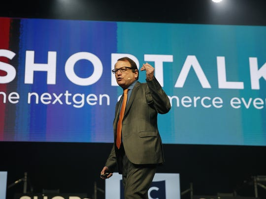 "Gerald Storch, CEO of Hudson's Bay Company, said at the Shoptalk retail and technology conference that ""the future doesn't belong to Internet-only companies."""
