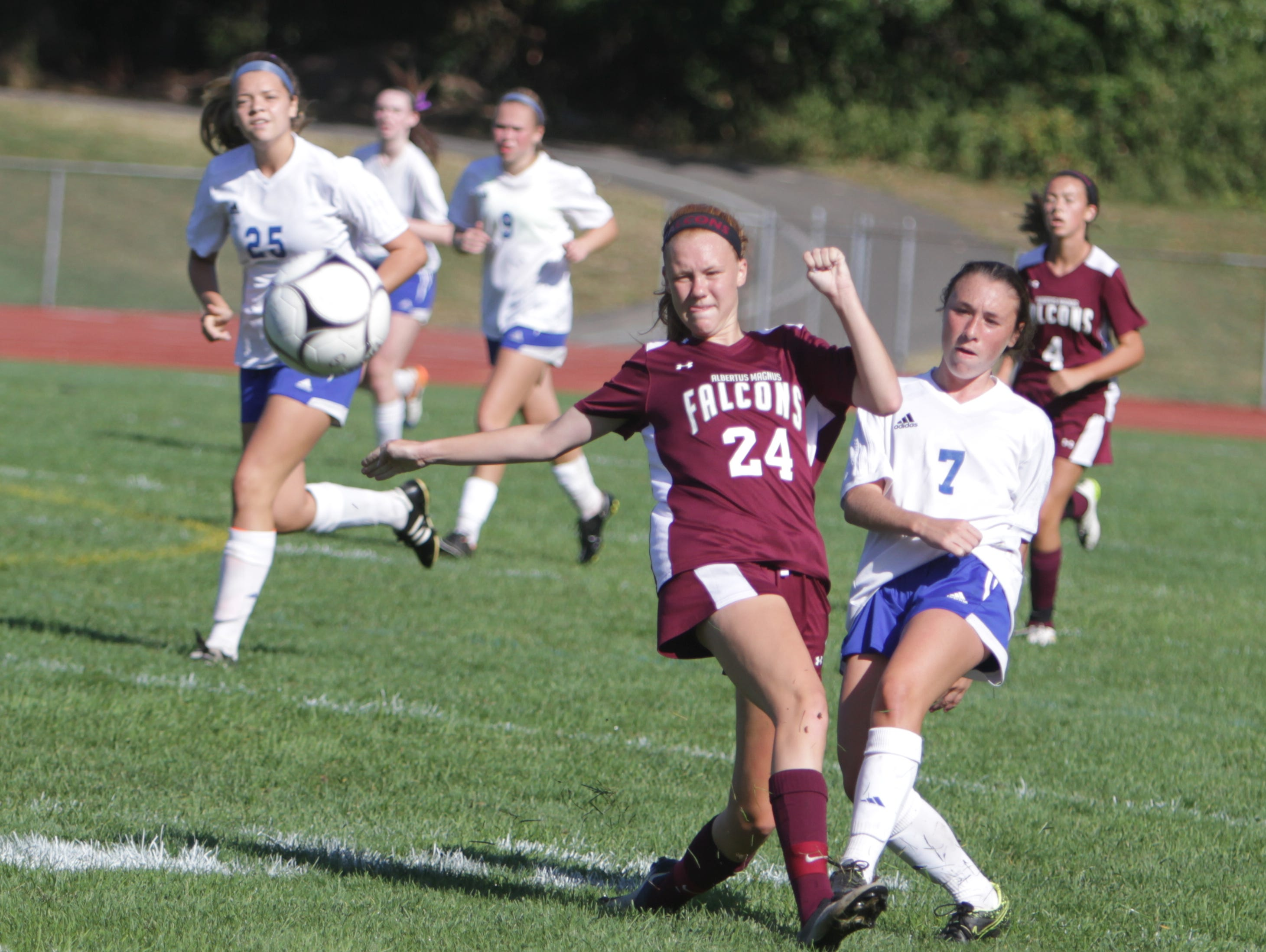 Pearl River slipped to No. 8 in this week's rankings following a 0-0 tie with Albertus Magnus.
