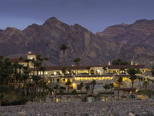 Behold dramatic views of the changing lights on the rugged mountains that form Death Valley from the Inn at Furnace Creek.