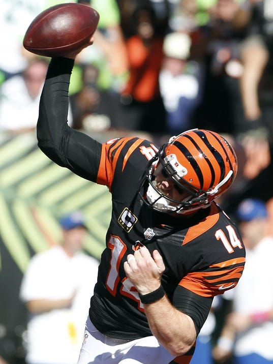 NFL: Seattle Seahawks at Cincinnati Bengals