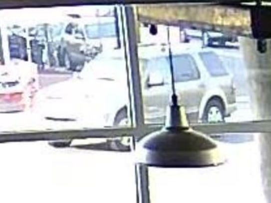 Police are seeking this Ford Explorer that allegedly