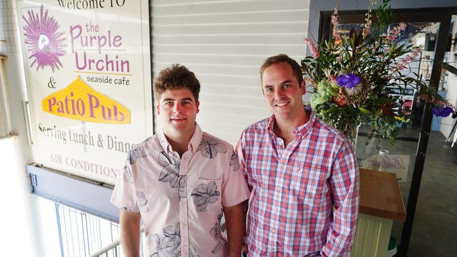 Hampton Beach's well known seaside cafe, The Purple Urchin is now under new ownership by brothers Ryan and Casey Anderson.