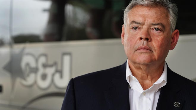 Jim Jalbert, president of C&J Bus Lines, said he is certain much of the business lost during the coronavirus pandemic shutdown of his industry will never come back and it won't survive without government aid.