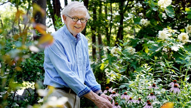 After 33 years on Parsons Road in Rye, Tom Mickey, professor emeritus of Communication Studies at Bridgewater State University and Master Gardener , is selling his home and his well-established gardens.