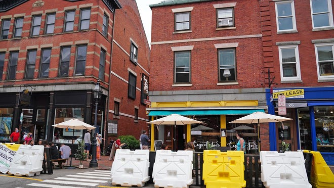 Restaurants in Portsmouth and around the state have been serving customers outside and inside with limited capacity due to the coronavirus pandemic on the Seacoast and southern areas of the state.