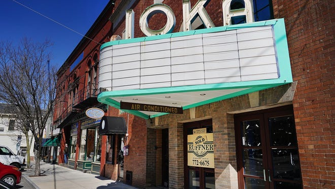 The Historic District Commission voted last week to require the new owners of the Ioka to keep its iconic marquee.