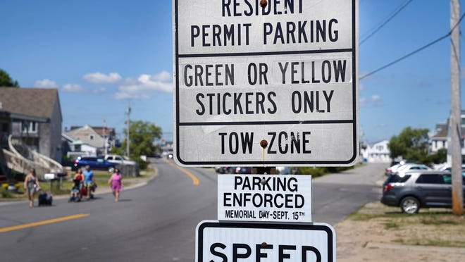 Parking along roads surrounding Seabrook Beach are now for residents only. Parking fines have increased from $50 to $200.