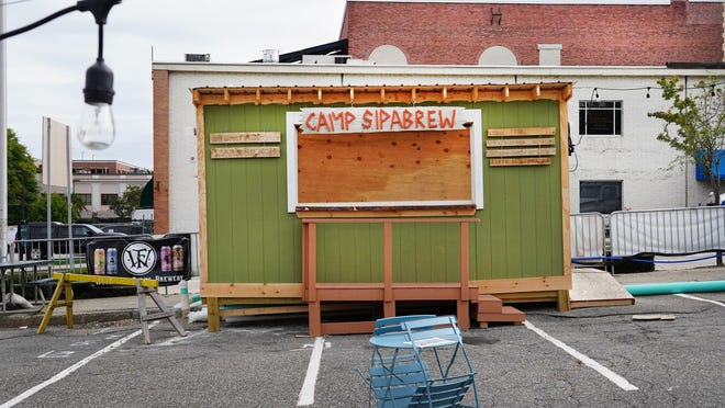 PopUp NH General Manager Tristan Law reports the temporary venue in Portsmouth's Bridge Street lot is booked through Oct. 18 and acts will be extended if the city extends the venue.