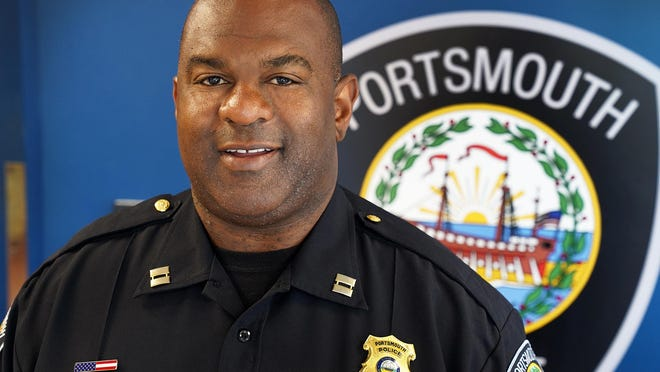 Capt. Mark Newport has been chosen to serve as interim Portsmouth police chief when Chief Robert Merner's retirement becomes official Oct. 7.