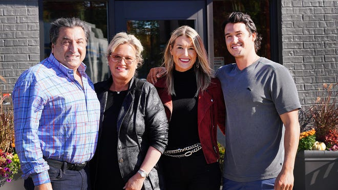 John Drivas, his wife Lisa, daughter Cassandra, and son AJ opened Red's Kitchen and Tavern on Route 1 in Seabrook this week, the third restaurant in the chain, at the former site of the Applebee's Restaurant.