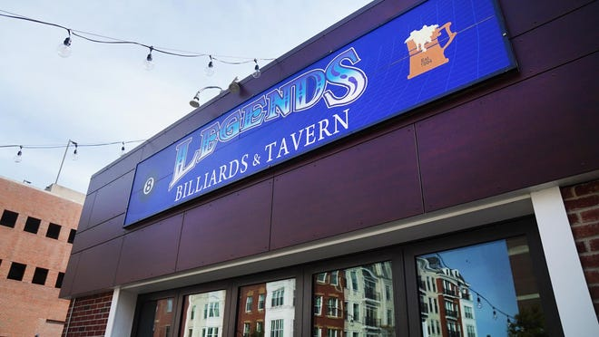 Legends Billiards and Tavern in Portsmouth is now temporarily closed after a staff member tested positive for COVID-19.