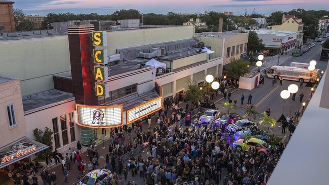 The Savannah community gathers for the opening night of the 21st annual SCAD Savannah Film Festival. Unfortunately due to the pandemic, this year's festival won't be taking to Broughton Street and will instead be virtual only.