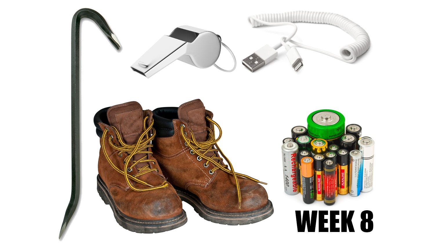 Week 8: Buy a metal whistle, not a plastic one