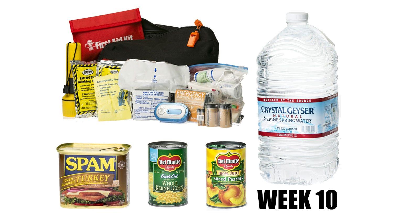 Week 10: More emergency planning than packing this week