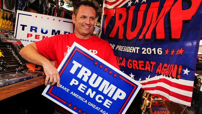 Matt Sledge of Murfreesboro has been a die-hard Donald Trump supporter even before he made a bid for the White House. He won tickets to the inauguration from Rep. Scott DesJarlais.