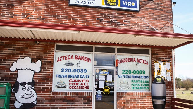 Azteca Bakery in Smyrna was closed in solidarity with 'A Day Without Immigrants' on Thursday.