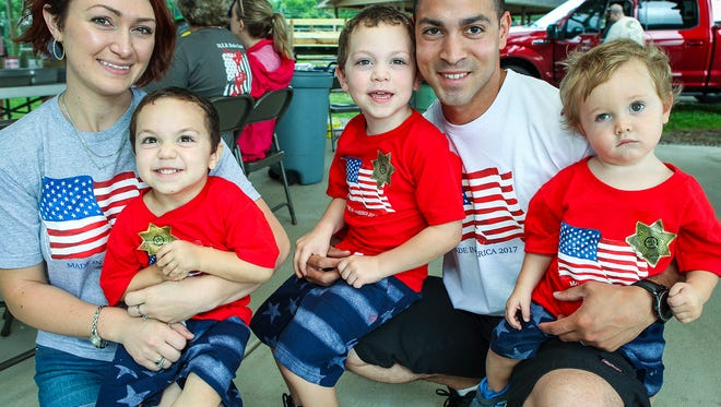 Citizens celebrate the holiday at the long-running Rockvale Fourth of July Picnic on Tuesday.