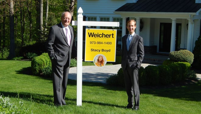 James Weichert, founder of Weichert, Realtors and his son, James Weichert, president of Weichert, Realtors.