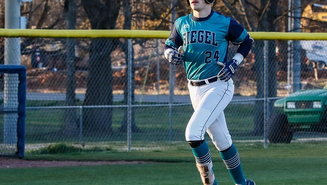Siegel senior shortstop Drew Benefield is the reigning all-area player of the year.