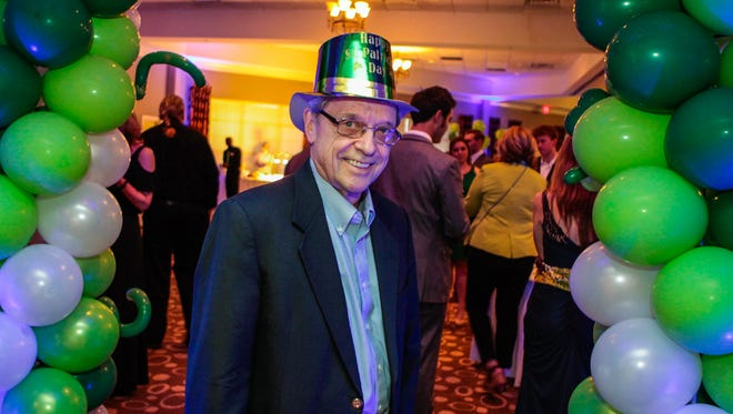 Dennis Milnar at the Murfreesboro Symphony Orchestra's Green Tie Affair and Casino Night, held March 17, 2018 at Stones River Country Club.