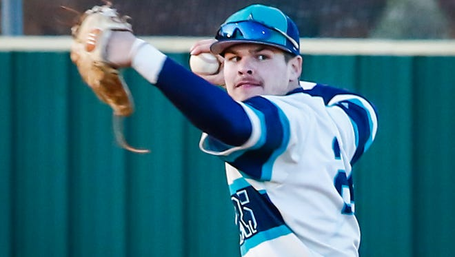 Siegel senior shortstop Drew Benefield prepares to fire to first during a recent game. The Stars are No. 1 seed entering the 7-AAA Tournament and have clinched a region berth.