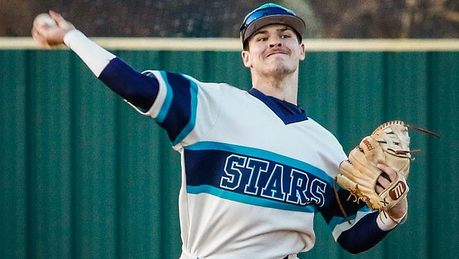 Siegel shortstop Drew Benefield hit his sixth home run of the season in a 13-5 win over Fishers (Ind.) Friday.