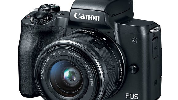 Canon M50 is a great camera for father's day