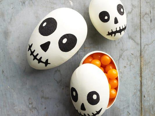 Halloween skull-theme