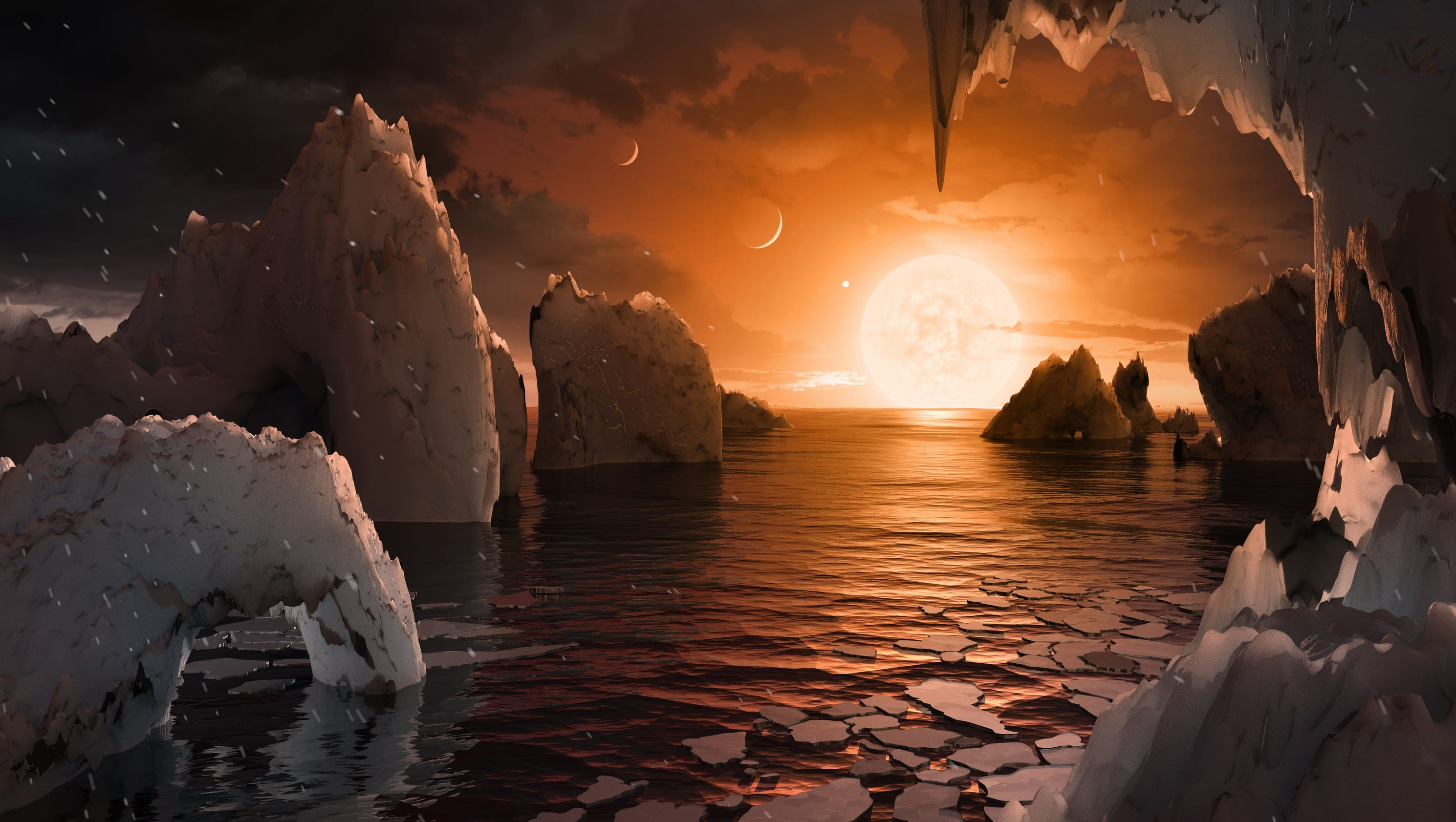Image result for Hubble Just Confirmed The Largest Ocean World in Our Solar System And Its Not On Earth