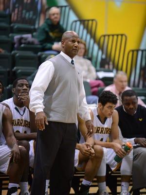 Wayne State men's basketball coach David Greer.