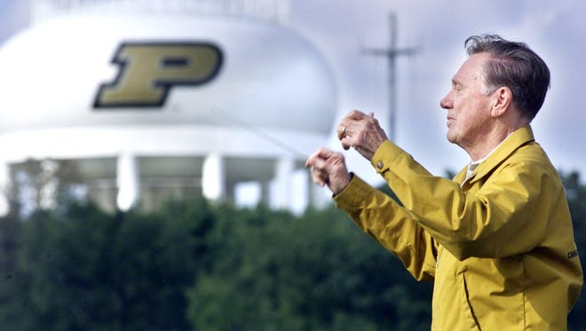 Al Wright led Purdue's bands from 1954 until 1981.