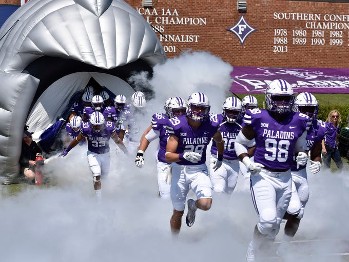 Furman hosts Elon in the football season home opener