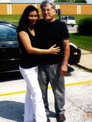 Joe Sandoval and his wife, Mercedes Sandoval.