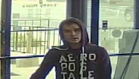 This is the suspect in a robbery at Farmers Savings Bank in Loudonville.