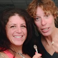 From left to right, Michelle Pascarella, and Arlene Owen of Shelly's Xtreme Fitness, Poughkeepsie.