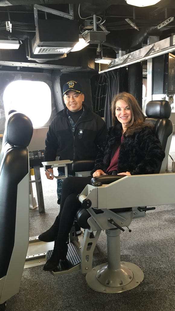 A private tour of the USS Jackson