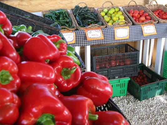 Farm to Fork - red bell peppers