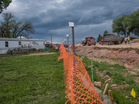 Roadway construction continues on Highway 287 as CDOT