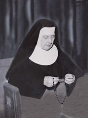 Sister Teresa Hurrle, who came to the convent as a