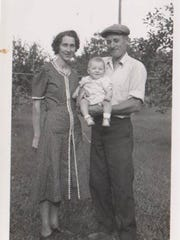 The third generation of the Beyer family, Emil and Evelyn (Setzer) Beyer.