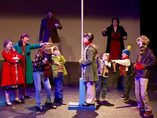 A Christmas Story The Musical.A Christmas Story The Musical Is A Whimsical Holiday Treat