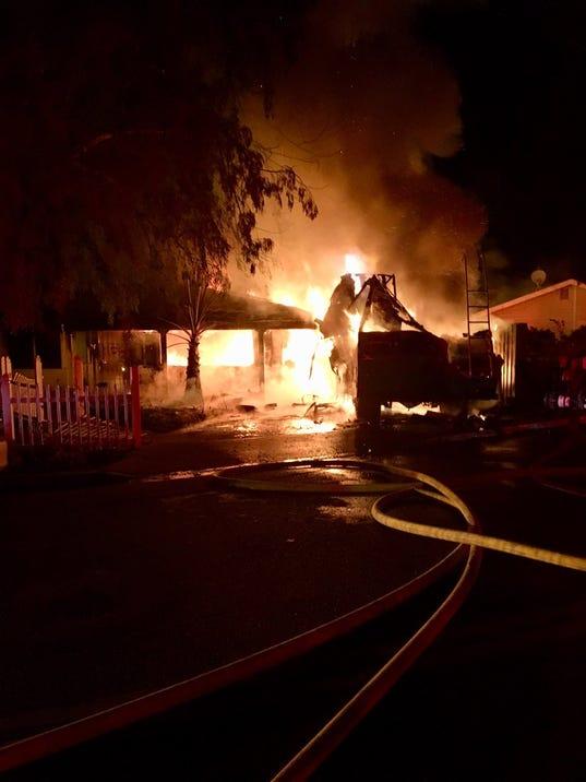 Oak View Fire