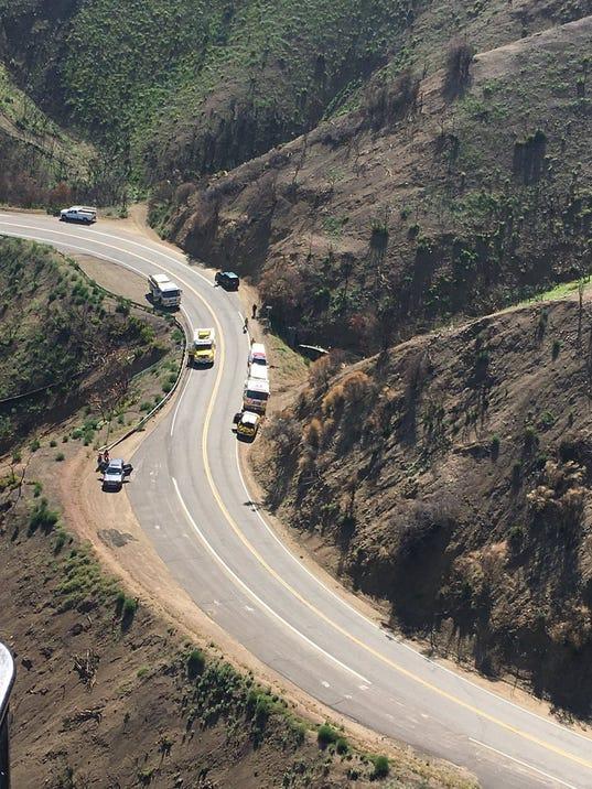 crash on Highway 33