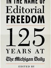 The Michigan Daily's 125th anniversary book sells for $28.95.