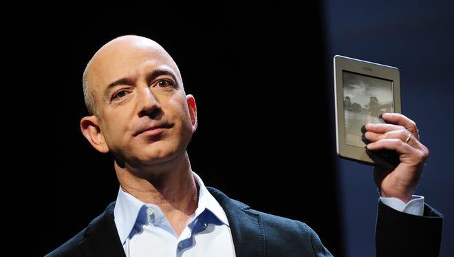 "Amazon CEO Jeff Bezos is buying ""The Washington Post"" for $250 million."