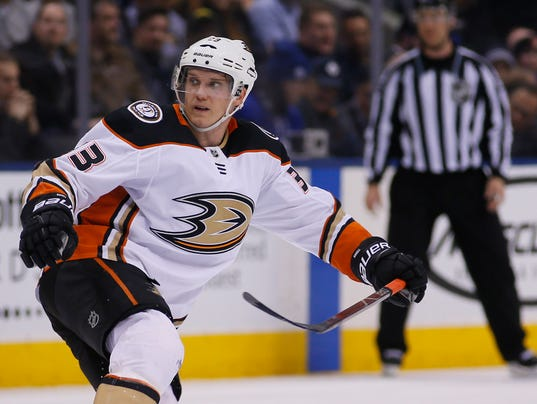 USP NHL: ANAHEIM DUCKS AT TORONTO MAPLE LEAFS S HKN TOR ANA CAN ON